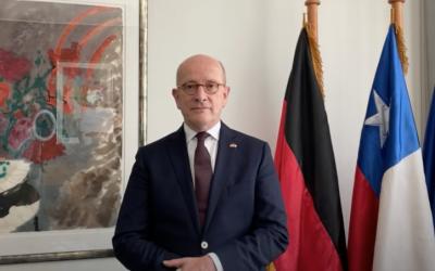 Día de la Unidad Alemana: Saludo del embajador de Alemania en Chile