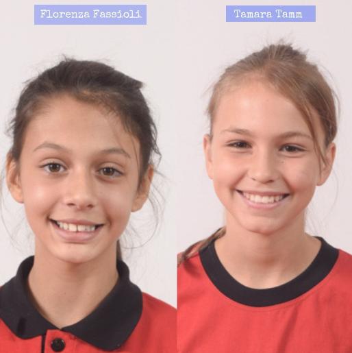 Felicitaciones a Florenza Fassioli y Tamara Tamm