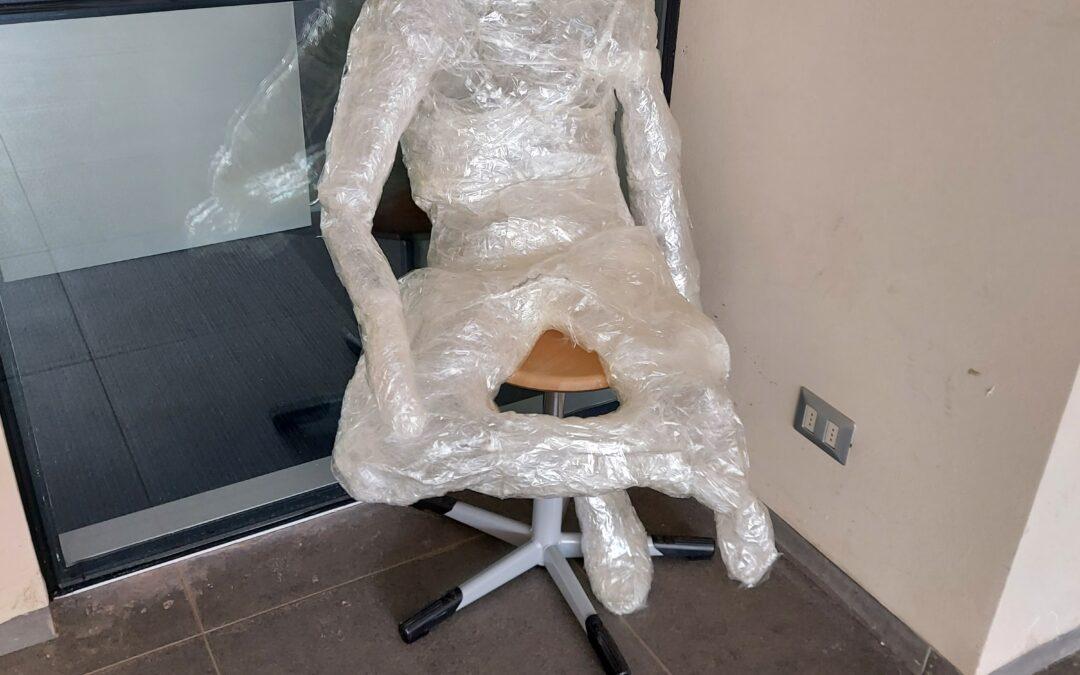 Esculturas transparentes